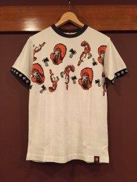 MWS 鹿の子プリントTシャツ 158722