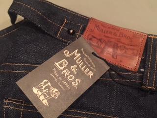 ミュラー&ブロスのジーンズ