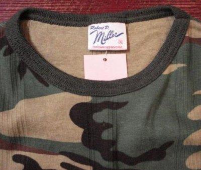 画像2: ミラー リンガーT カモフラージュ Tシャツ 迷彩 miller usa