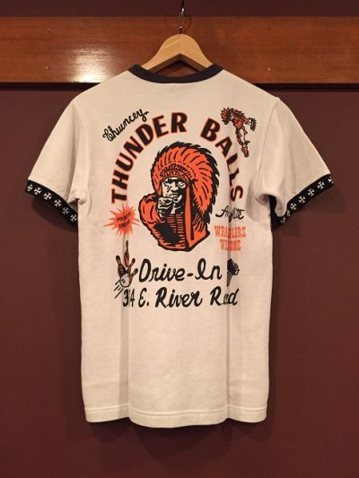 画像2: MWS 鹿の子プリントTシャツ 158722