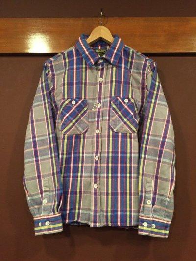 """画像2: コリンボ キャンバスバック  ネルシャツ  """"FLEMINGTON SHIRT"""" #03070"""