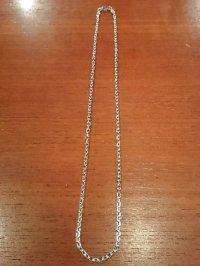 シルバー小豆チェーン3.5mm 50cm