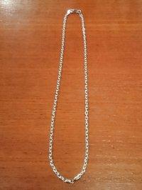 シルバー小豆チェーン3.5mm 45cm