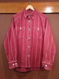 クッシュマン ストライプワークシャツ 25604