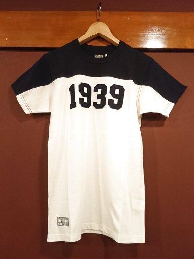 画像1: ダッパーズ コンビネーションクルーネックTシャツ Lot.1248