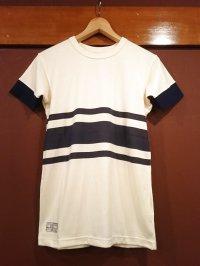 ダッパーズ スリーラインボーダープリントTシャツ Lot.1247