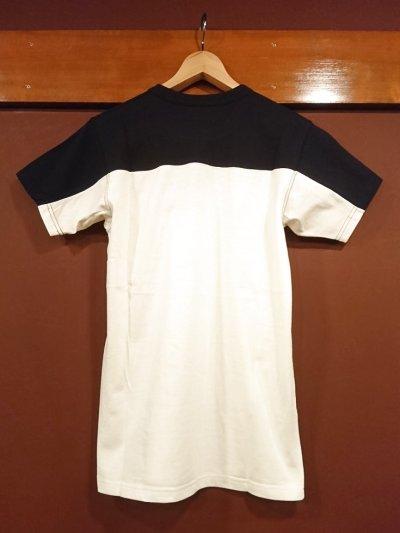 画像2: ダッパーズ コンビネーションクルーネックTシャツ Lot.1248