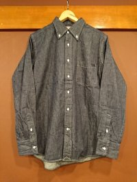 GLEEM グリーム デニムボタンダウンシャツ 662-A