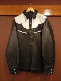 GLEEM グリーム レザーウエスタンシャツ 861
