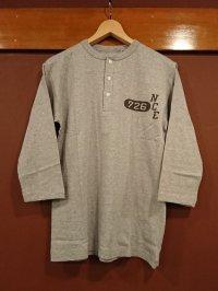 ウエアハウス(ダブルワークス) 七分袖ヘンリーネックTシャツ NCE726