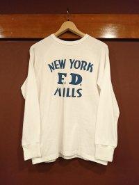 ウエアハウス(ダブルワークス) プリントロングスリーブTシャツ NEW YORK FD
