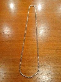 シルバーボールチェーン2.5mm 45cm