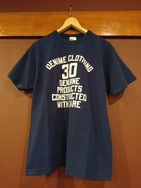 DENIME ドゥニーム 30周年記念プリントTシャツ DP12-005