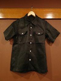 ミュラーアンドブロス 半袖オープンカラーシャツ MB024
