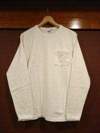 ウエアハウス(ダブルワークス) ポケット付きロングスリーブTシャツ 19158002