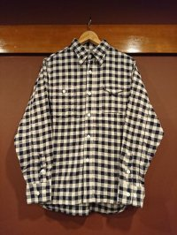 クッシュマン ヘリンボーンチェックワークシャツ 25282