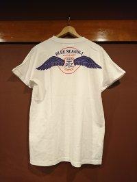 トパーズ(ブルーシーガル) プリントポケット付きTシャツ BS-0001