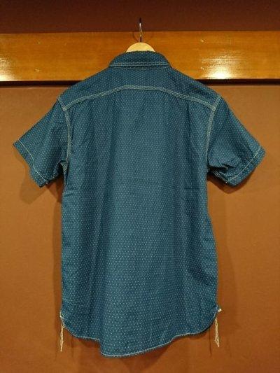 画像2: フェローズ 半袖ウォバッシュワークシャツ 750WSS-W