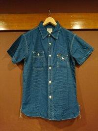 フェローズ 半袖ウォバッシュワークシャツ 750WSS-W