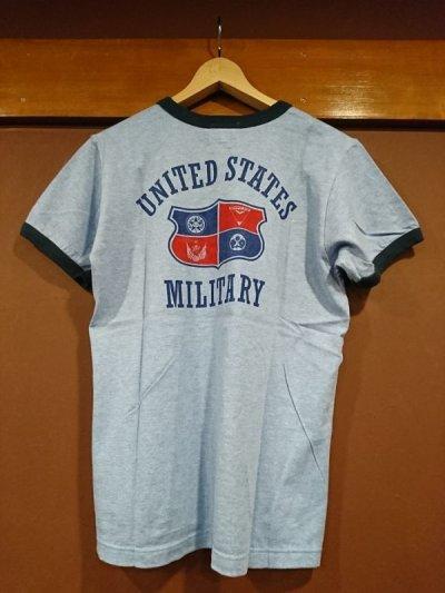 画像1: フェローズ  プリントリンガーTシャツ CRT1