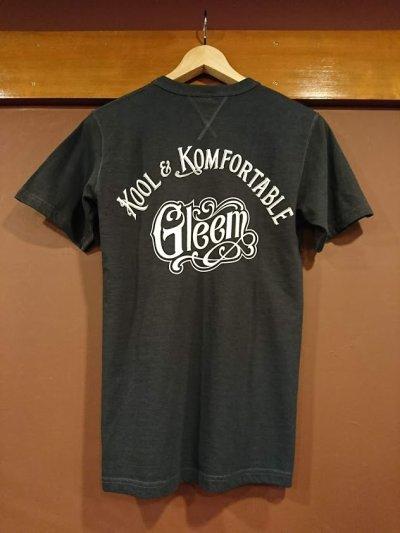画像1: GLEEM グリーム 両VネックプリントTシャツ 318-B