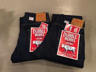 ダブルワークスのジーンズ