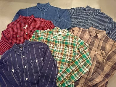 柄物のシャツ!