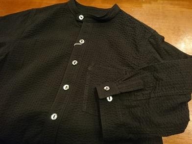 ダッパーズの七分袖ワークシャツ