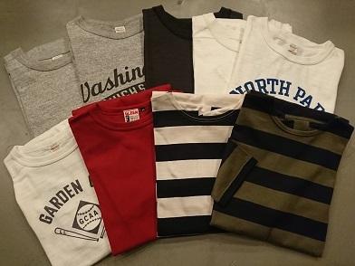 七分袖Tシャツ!