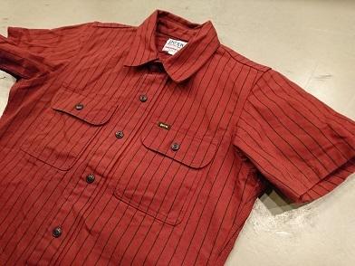 デラックスウエアの半袖ワークシャツ!