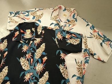 デラックスウエアのハワイアンシャツ!