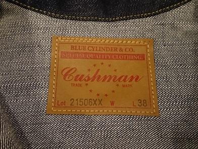 コナーズ&クッシュマンのデニムジャケット!