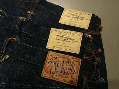 スティーブンソンオーバーオールのジーンズ!