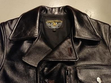 ダブルヘリックスのレザージャケット!