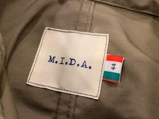 MIDAのスプリングコート!しかも、19,000円!