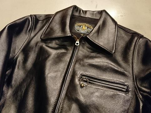 着応えのあるダブルヘリックスの30'sレザージャケット!