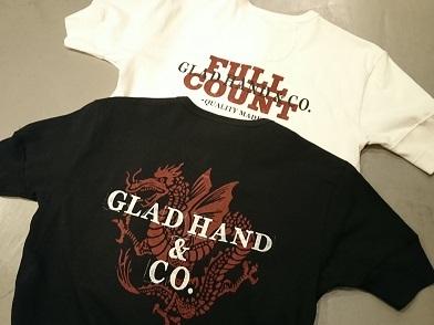 フルカウント×グラッドハンドのコラボTシャツ!