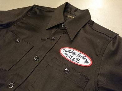 ミュラーアンドブロスの半袖ワークシャツ!