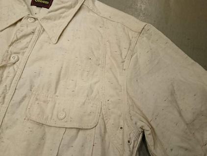 グリームの半袖ワークシャツ!