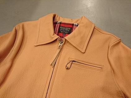 グリームのレザースポーツジャケット!
