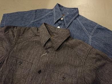 クッシュマンの半袖ワークシャツ!